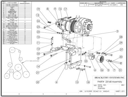 Alternator Brackets Compressor Brackets
